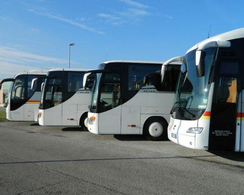 noleggio autobus, pullamn e minibus Venezia, Mestre, Treviso e Padova